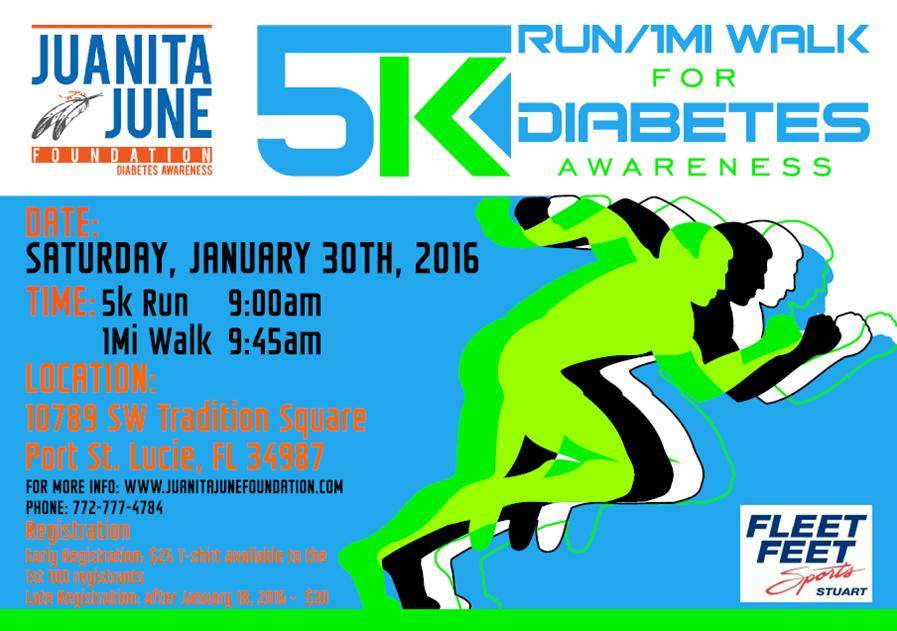 Juanita June Founadtion 5K Run