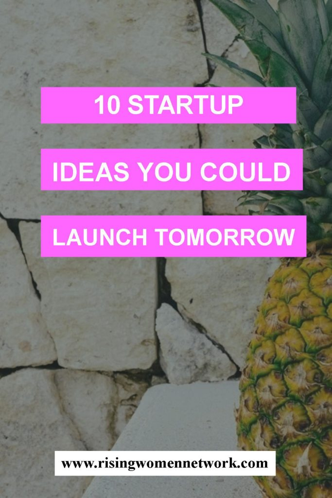 With a bit of forward planning and a small initial investment, you could launch any of these small businesses in a few months.