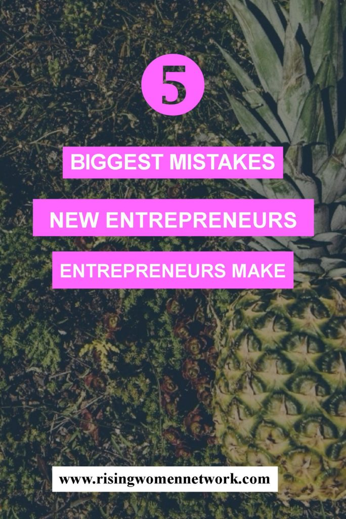 "Here are five of the biggest mistakes new entrepreneurs can make from folks who have ""been there"""