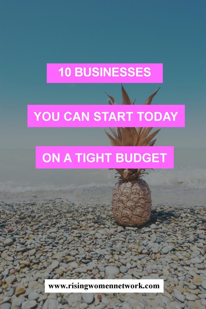 Starting a service- or talent-based business is an ideal choice for first-time entrepreneurs, and for a simple reason: They don't require a big budget