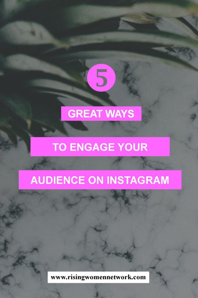 If you're not sure how to engage your audience we've gathered a handful of other methods to really make an impression on Instagram