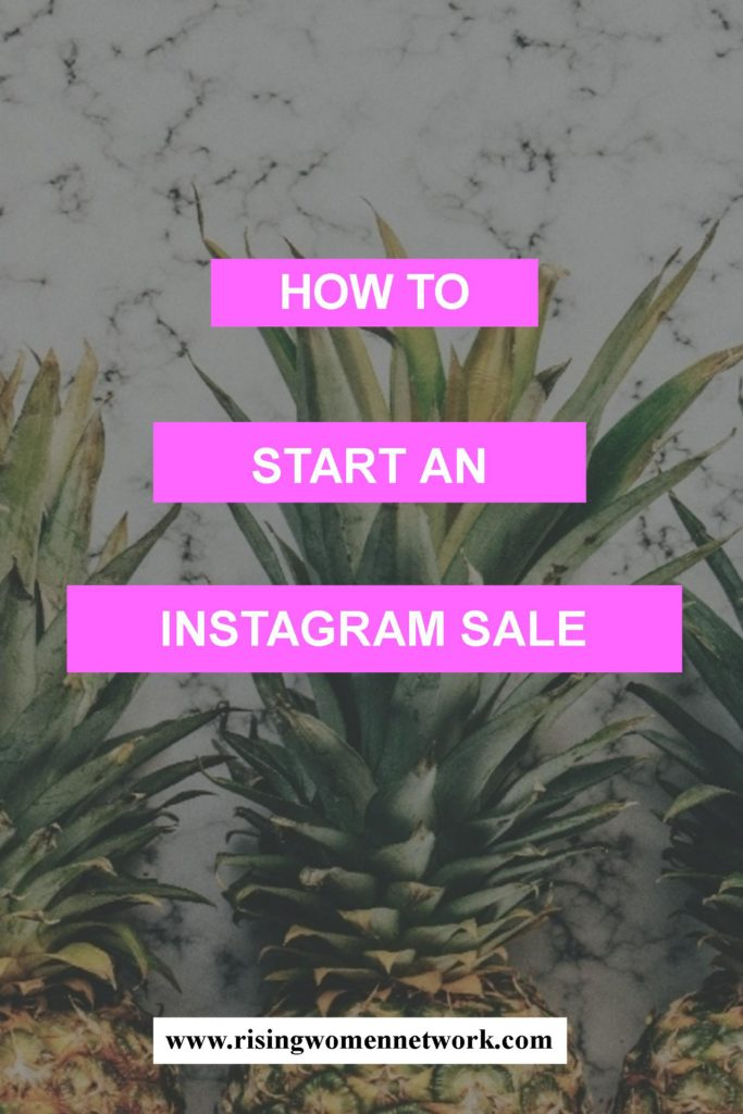 "How to start an Instagram sale? Instagram ""shops"" are more common than you may think, and they're a great way to hold quick virtual yard sales."
