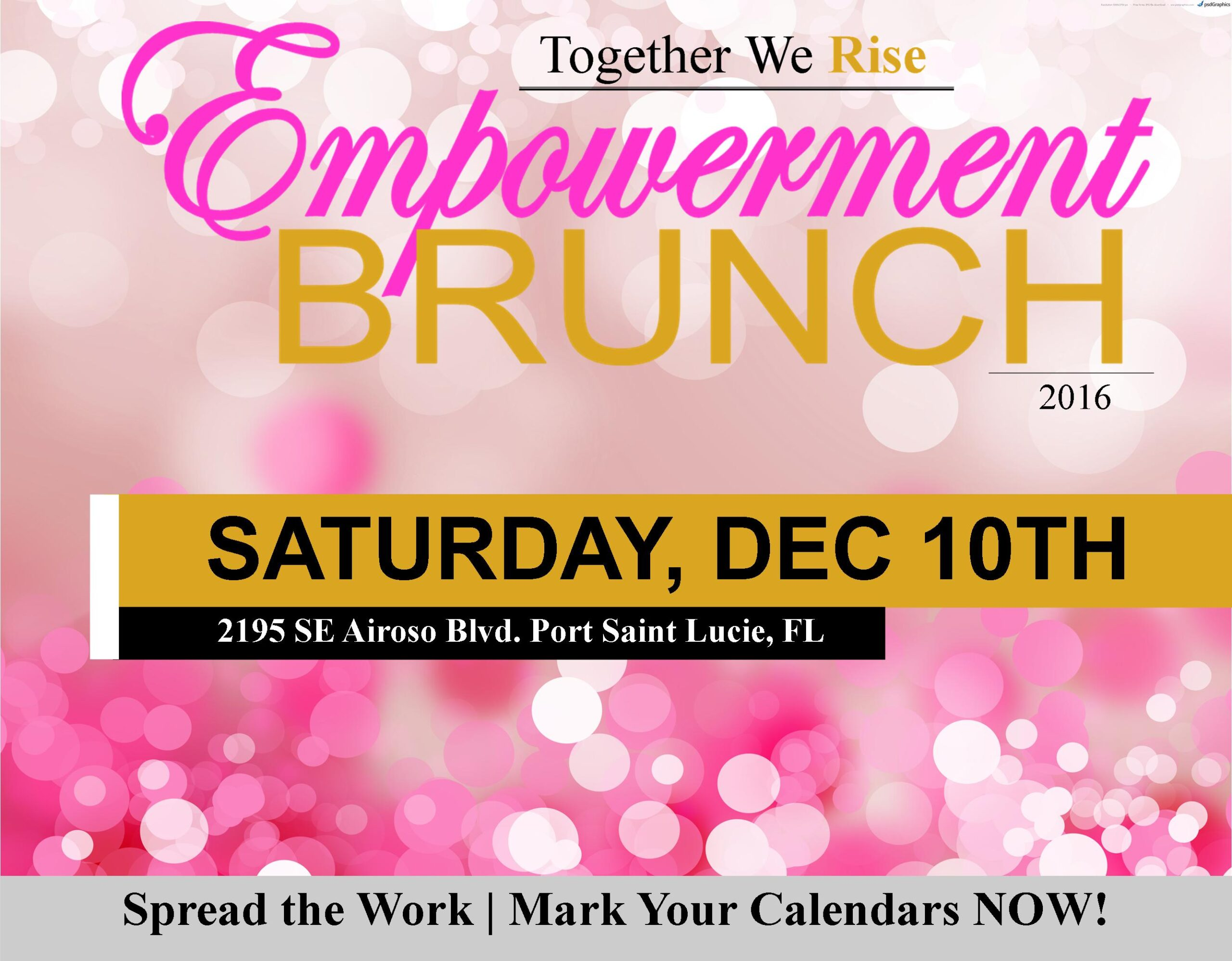Together We Rise Empowerment Brunch