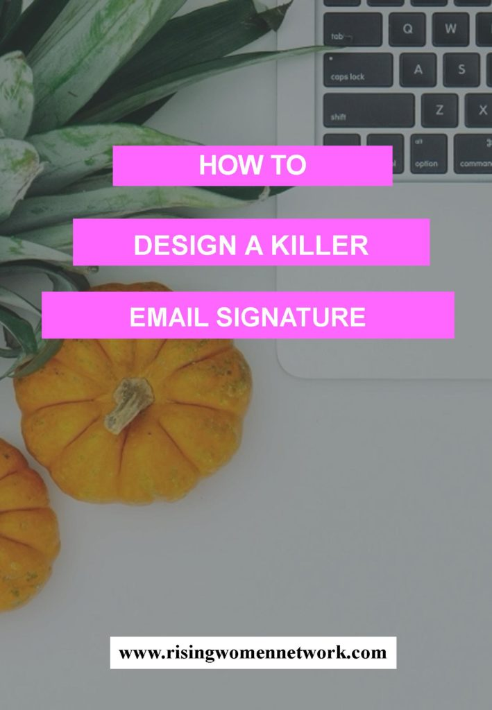 Although email signature seems as easy enough to make, a lot of people still find it hard to create an effective email signature.