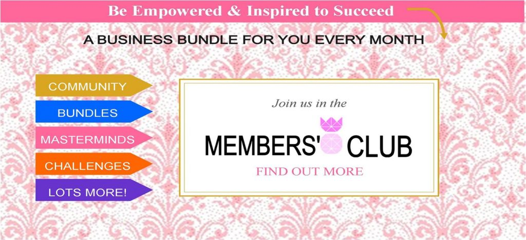 I have put my heart into creating Members Club, I'm committed to making it amazing every single month, for everyone. We will be working on make it better.