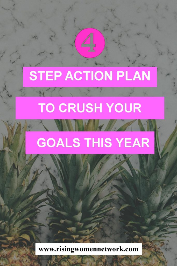 I wanted to share with you my process for choosing goals and how I create an action plan to make sure I achieve each one.