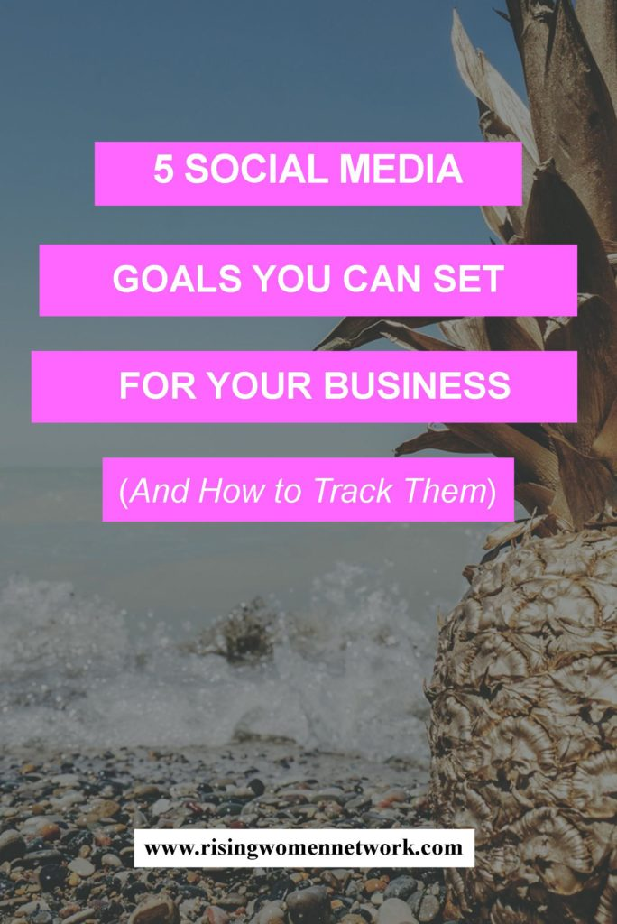 I'll walk through 7 very different, but effective social media goals and for each goal relevant metrics to track and share how to measure your results.