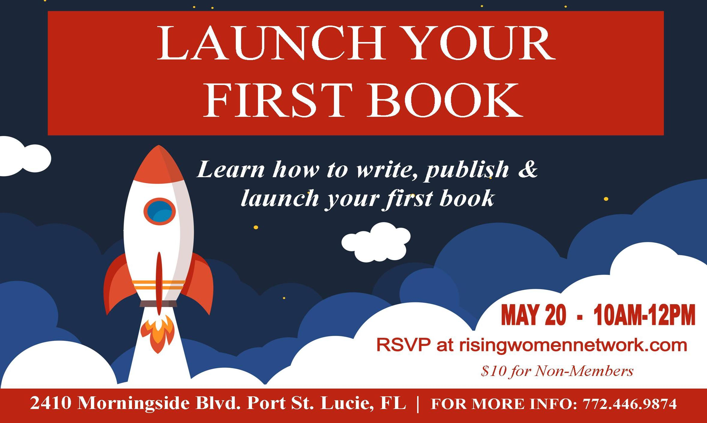 Launch your First Book is an informative, helpful workshop that is great for first-time authors and those who are multi-published veterans of the industry.