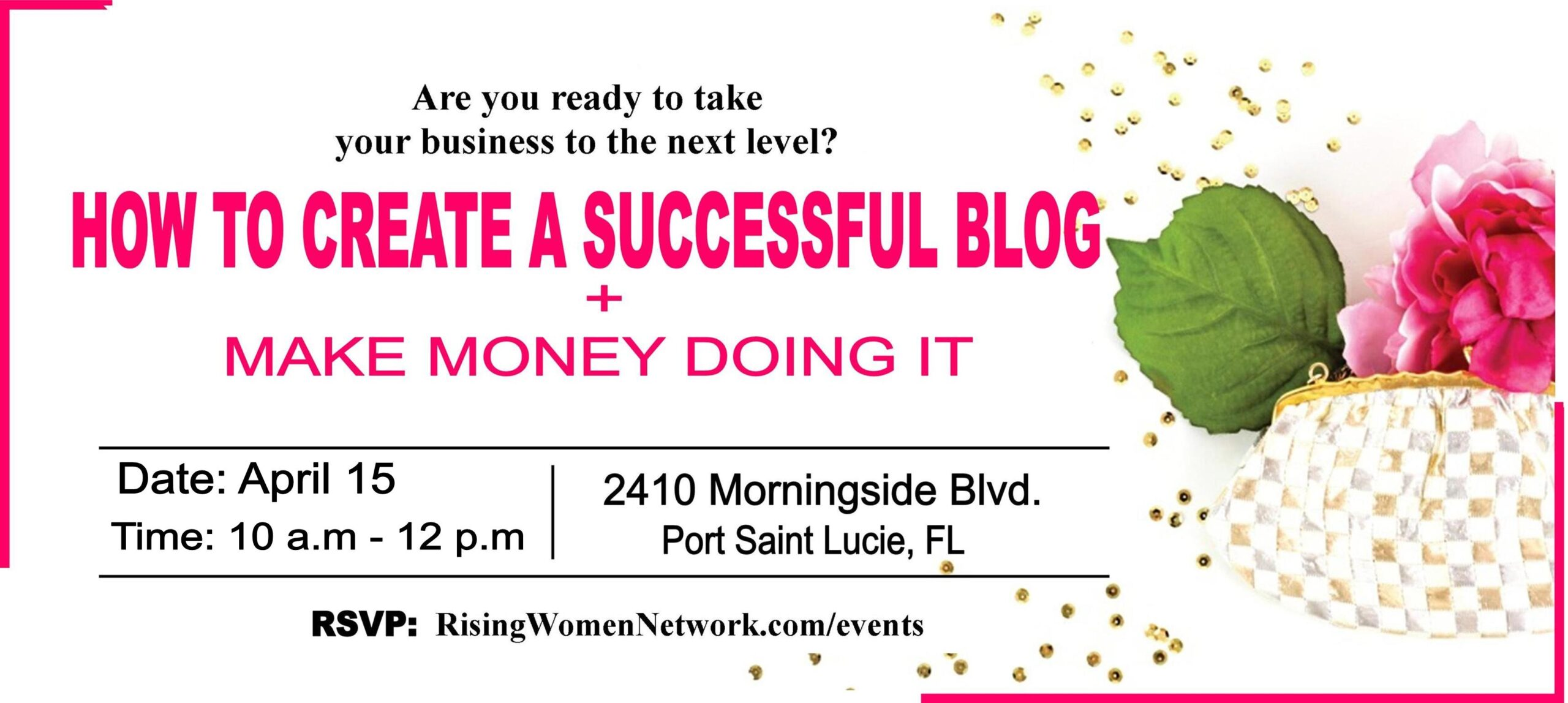 Are you ready to take your business to the next level? We are here to help you make it happen. We will show you how to create a successful blog.