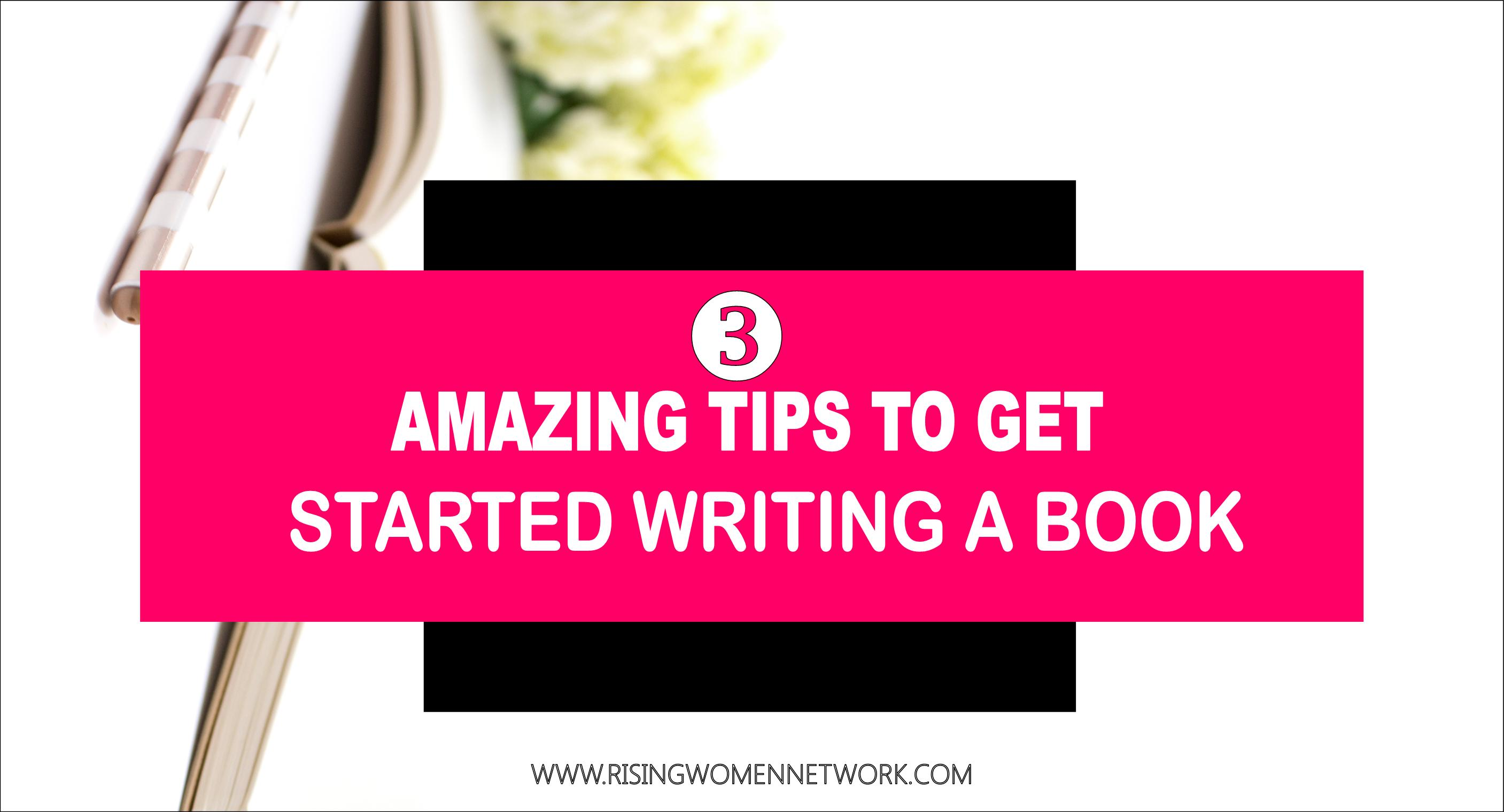 tips for writing books Advice on writing and illustrating your own picture book successfully gives her top tips for getting started on your picture books.