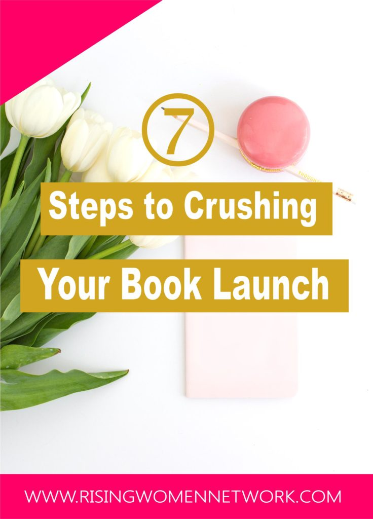 "7 Steps to Crushing Your Book Launch. let's cut to the chase. Below I've outlined exactly what I did that gave ""Boss Blog Planner"" such a rocket book launch"