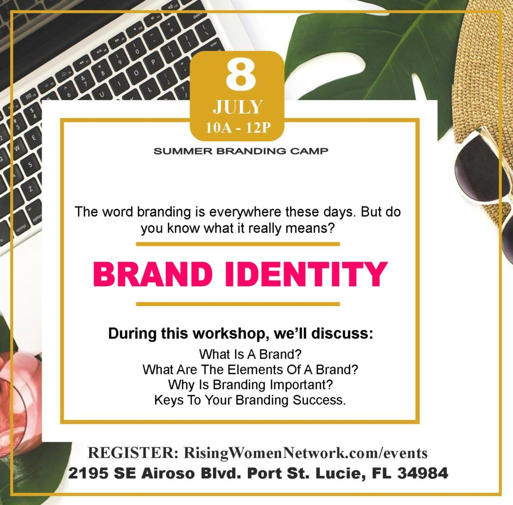 Brand Identitys: Why Branding is more than Your Logo, with our founder, and genius in her industry, Martine Alphonse! The word branding is everywhere these days. But do you know what it really means?