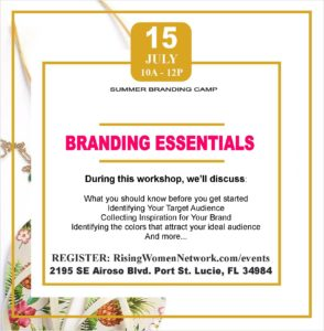 Branding Essentials: Identifying who you are, what inspires you, who you seek and how to use this information to leverage business.