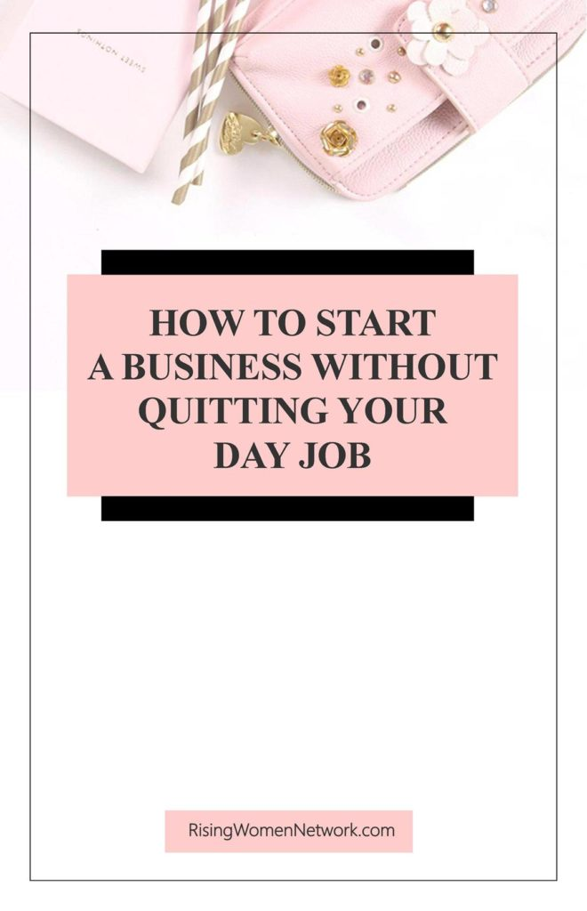 How can you possibly start a small business and be the entrepreneur of your dreams whilst keeping a day job? Well, with these five easy steps.