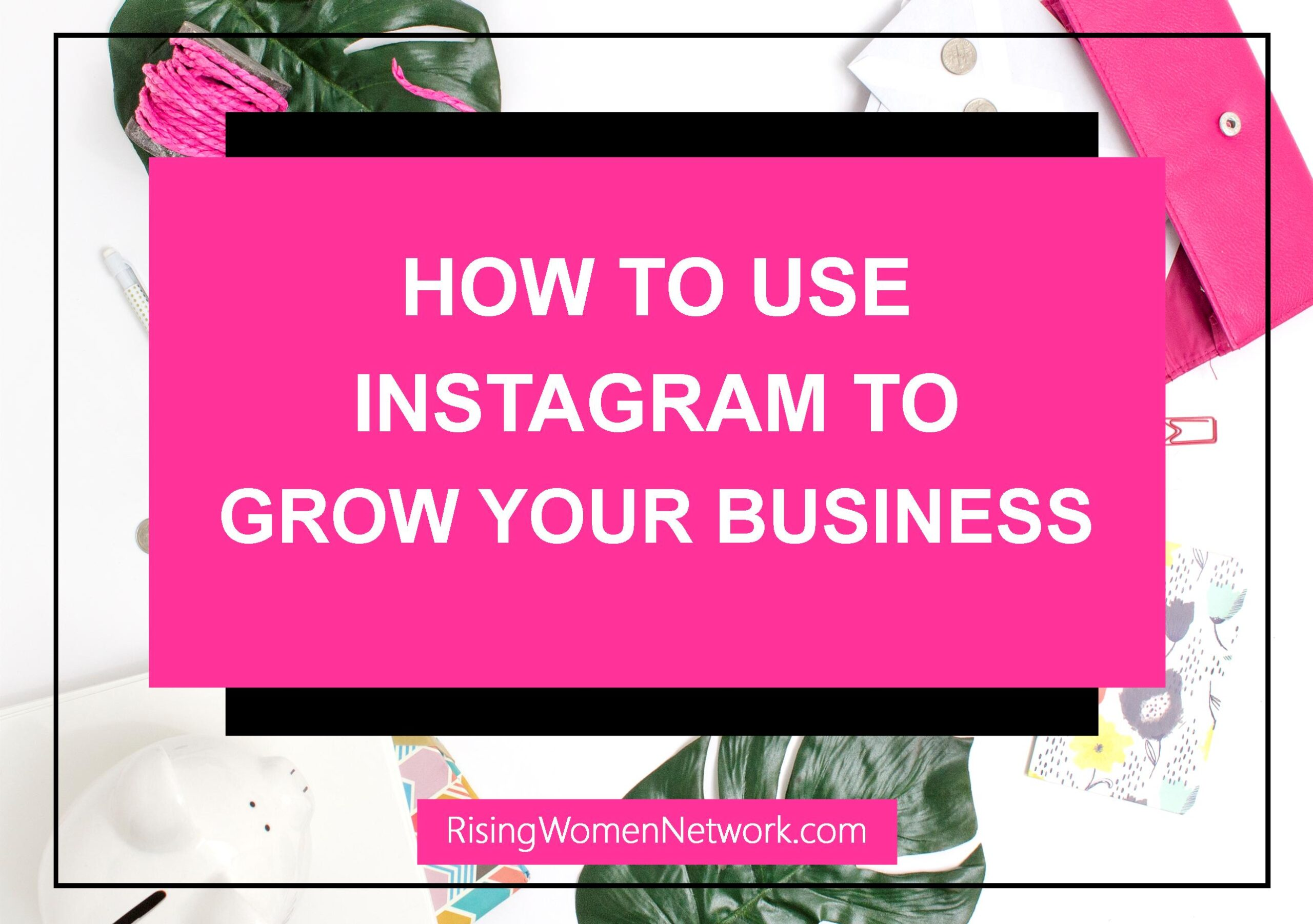 Whether you sell physical products, digital products, or services – if you are a creative entrepreneur, you need to sign up and use Instagram.