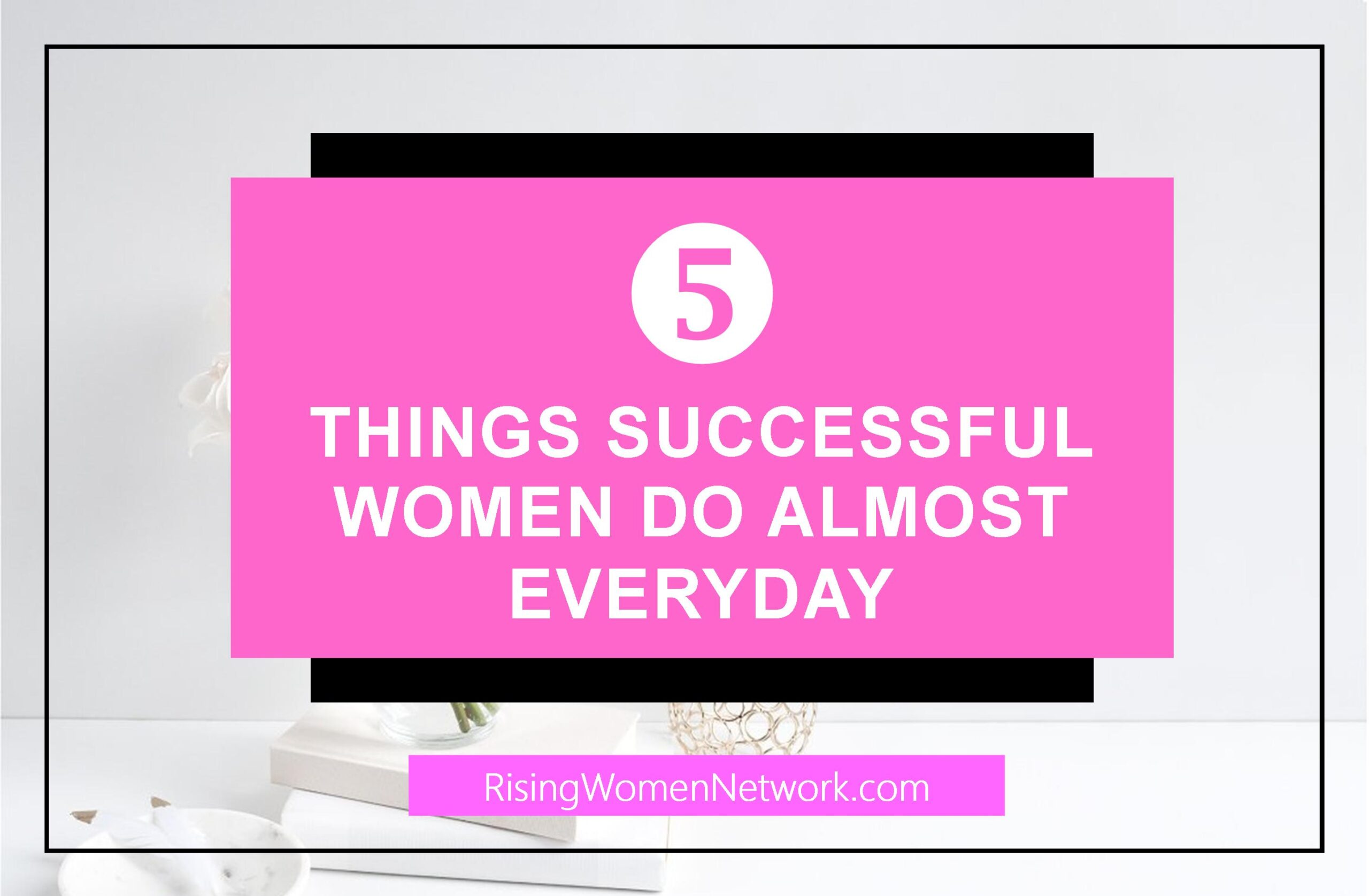 As ambitious female entrepreneurs, we really want to have it all and do it all and be successful women! But realistically, we can't transform overnight.