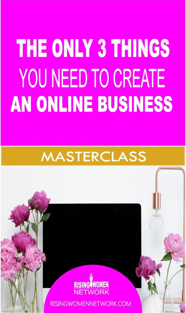 Forget all the magic formulas. When you're just getting started in your online business, there's only 3 THINGS that you 100% need.