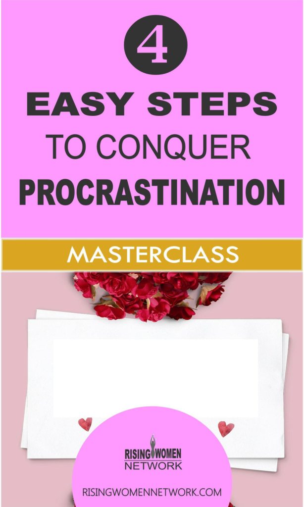 Simple 4-step process I developed to stop procrastination and tackle those things I really, really, really don't want to do.