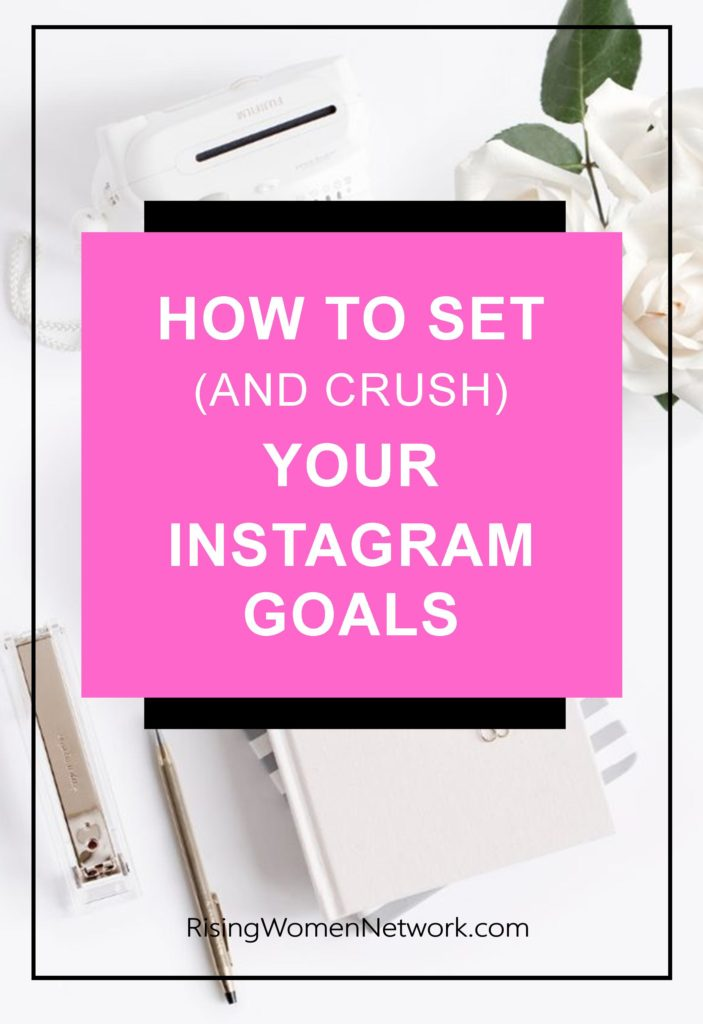 The first step in creating your Instagram goals are to set overarching business goals and select metrics to track progress toward them.
