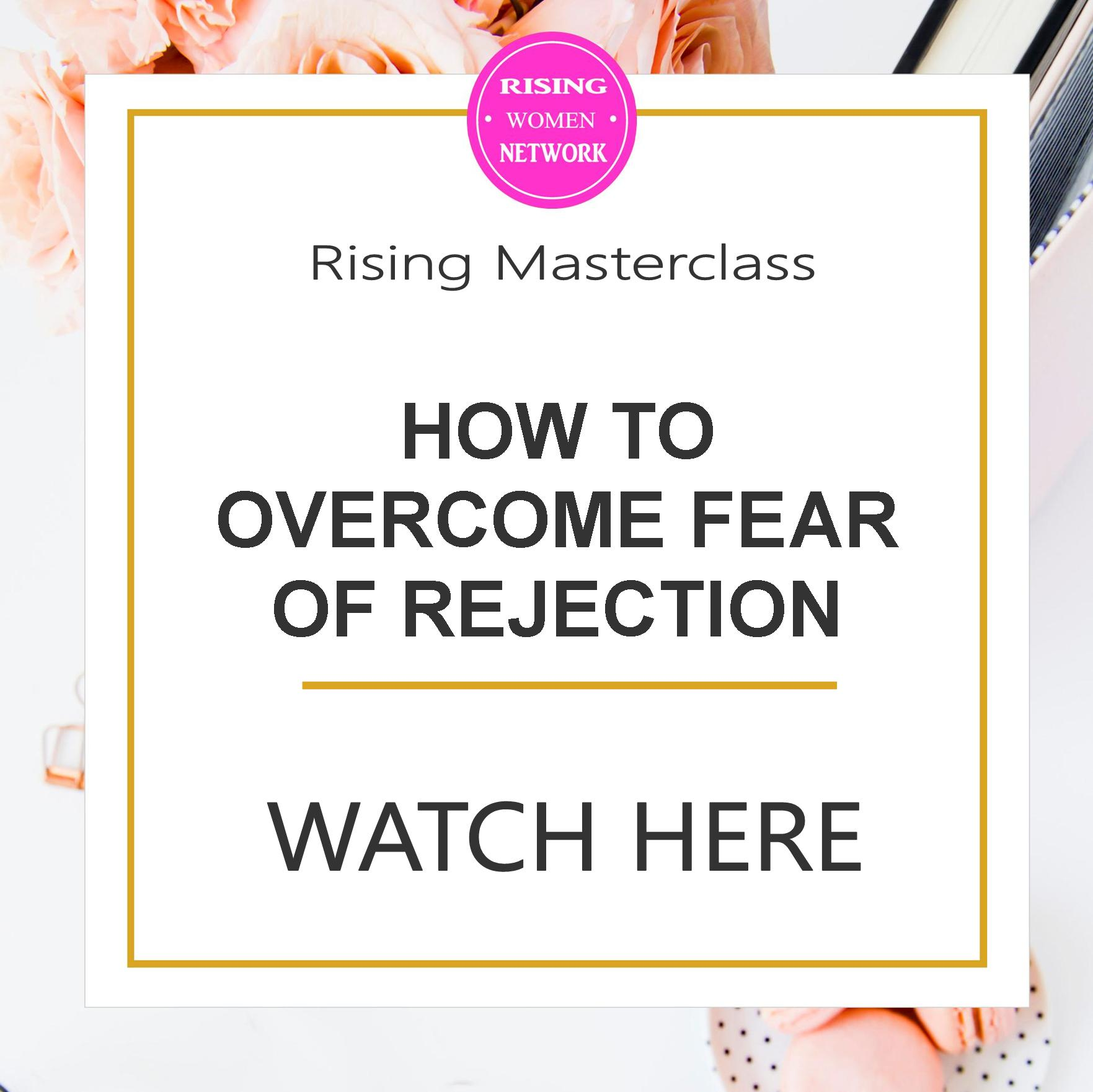 Fear of rejection holds you back in many areas of your life. Here are some techniques to become more confident and accept rejection if it does happen.