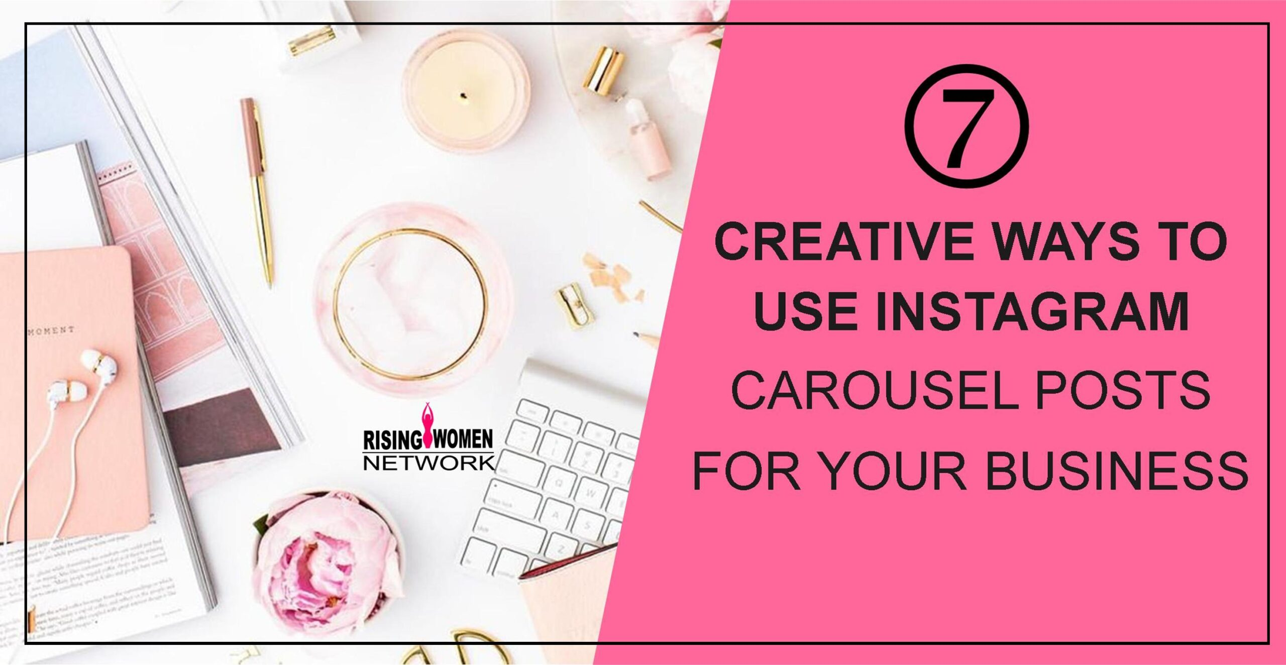 From promoting new product lines to sharing event photos and videos, here are  7 creative ways you can use Instagram carousel posts.