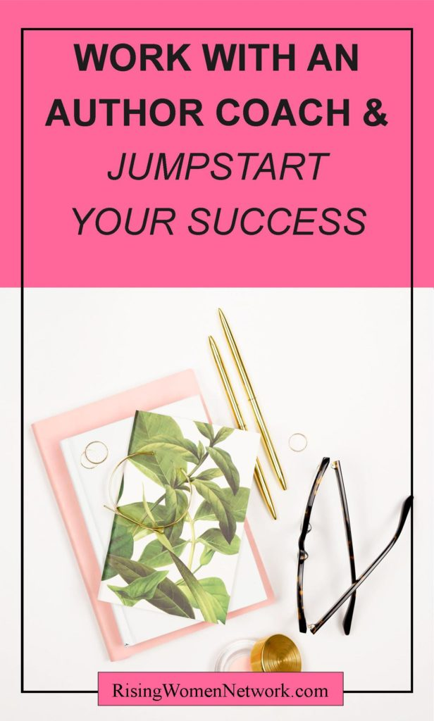 Time to invest in yourself and finally achieve what you've been wanting to achieve in your author business with an author coach.