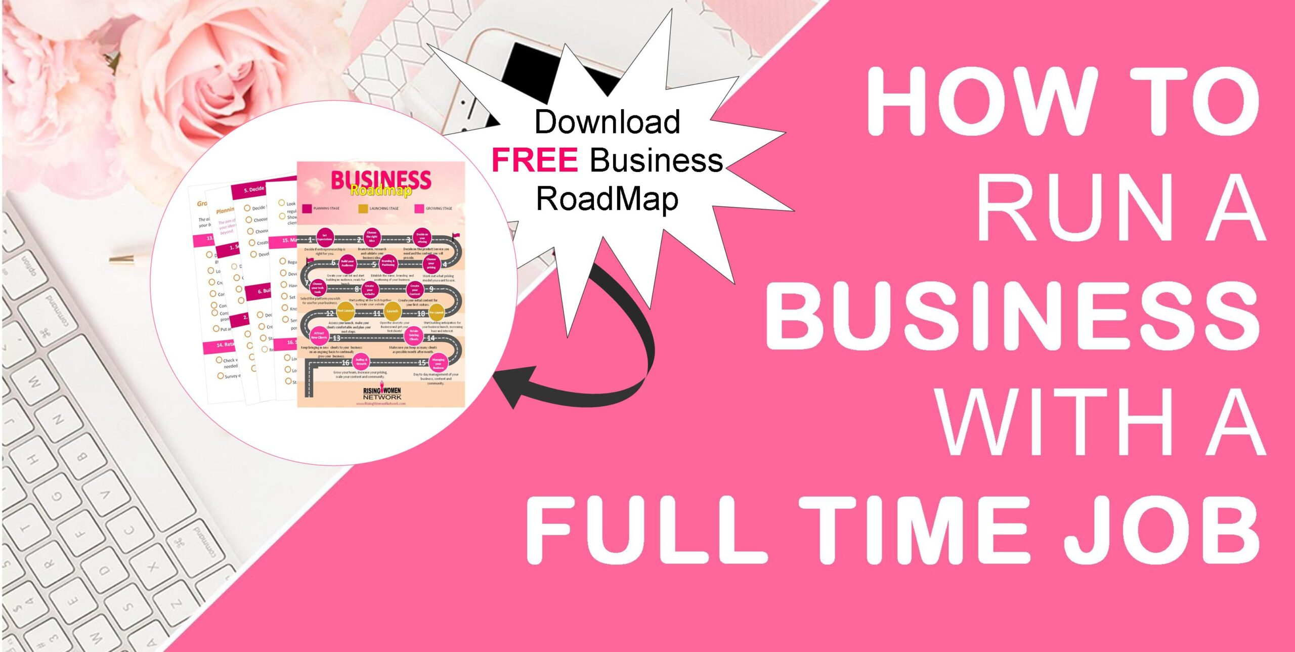 How To Run A Business With A Full Time Job