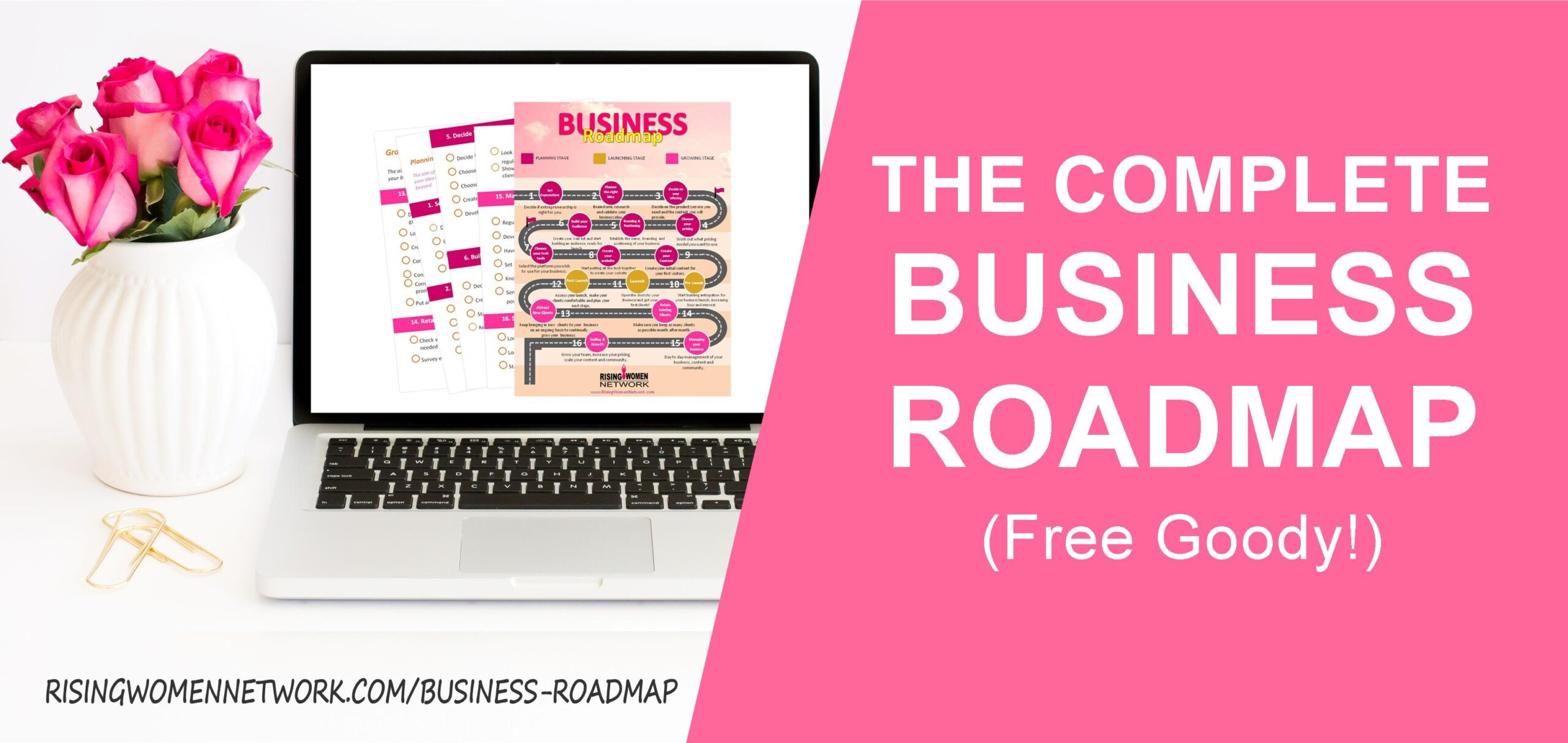 The Complete Business Roadmap (Free Goody!)
