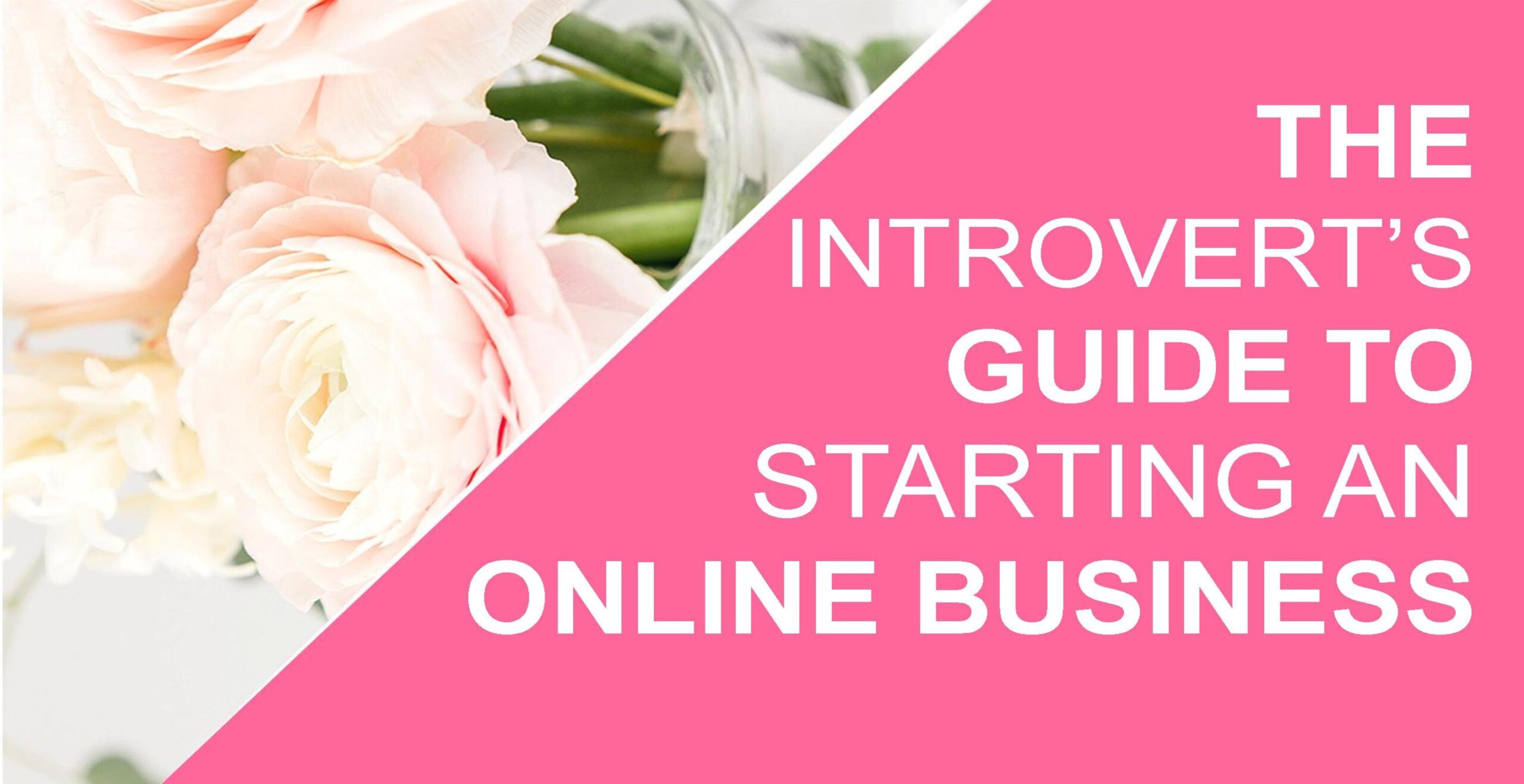 The Introvert's Guide to Starting An Online Business