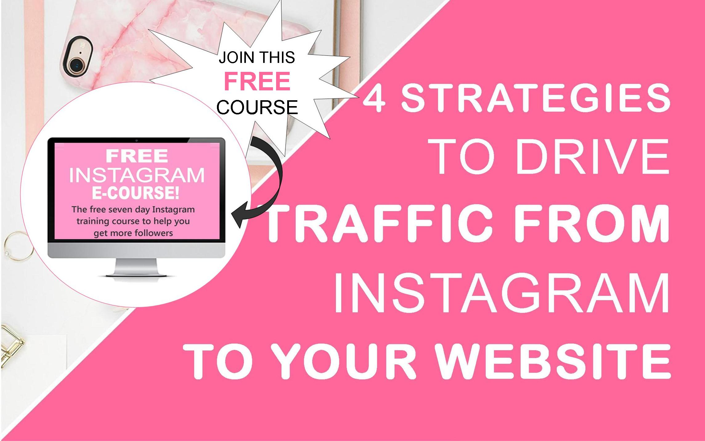 4 Strategies to Drive Traffic from Instagram to Your Website