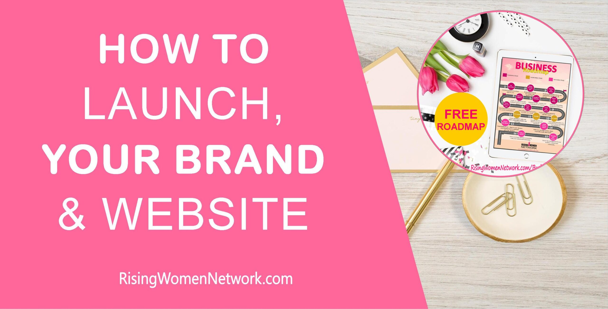 How To Launch Your New Brand And Website