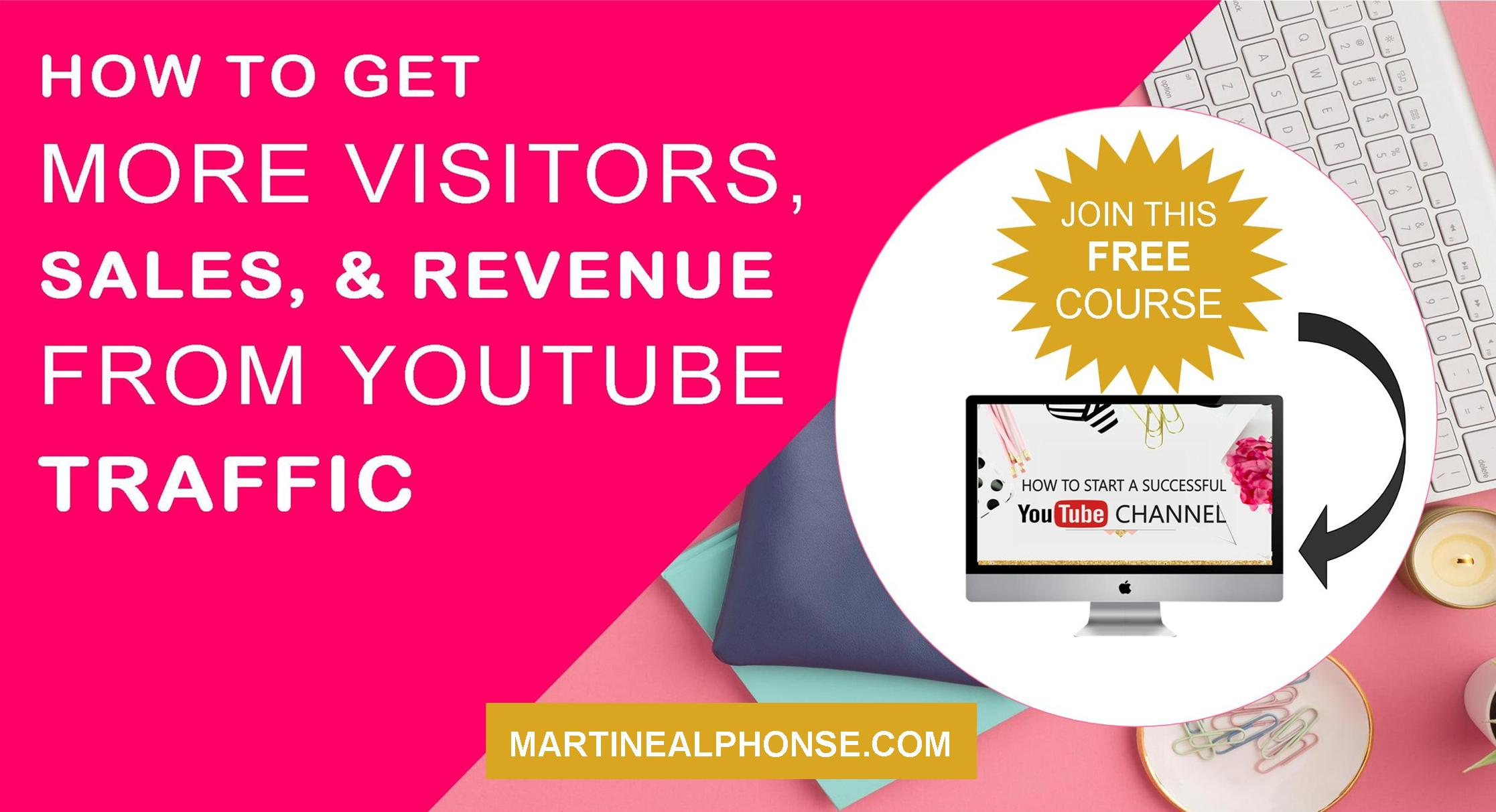 How to Get More Visitors, Sales, & Revenue From YouTube Traffic