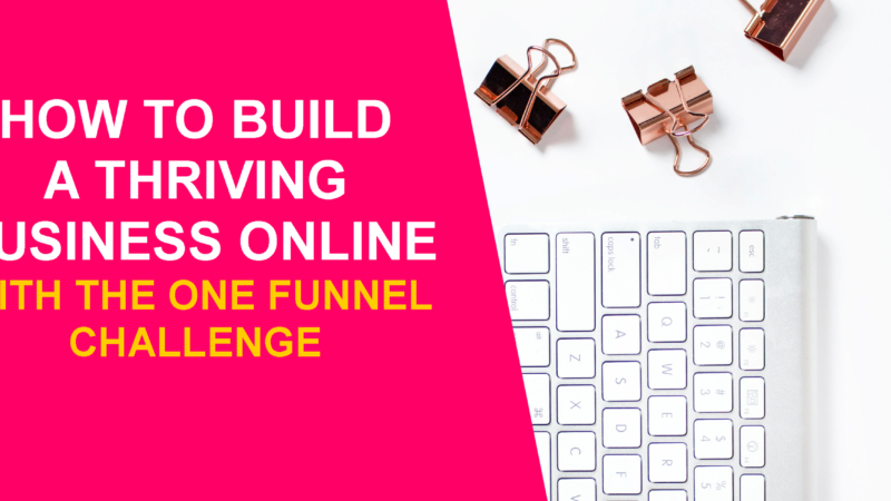 How to Build a Thriving Business Online